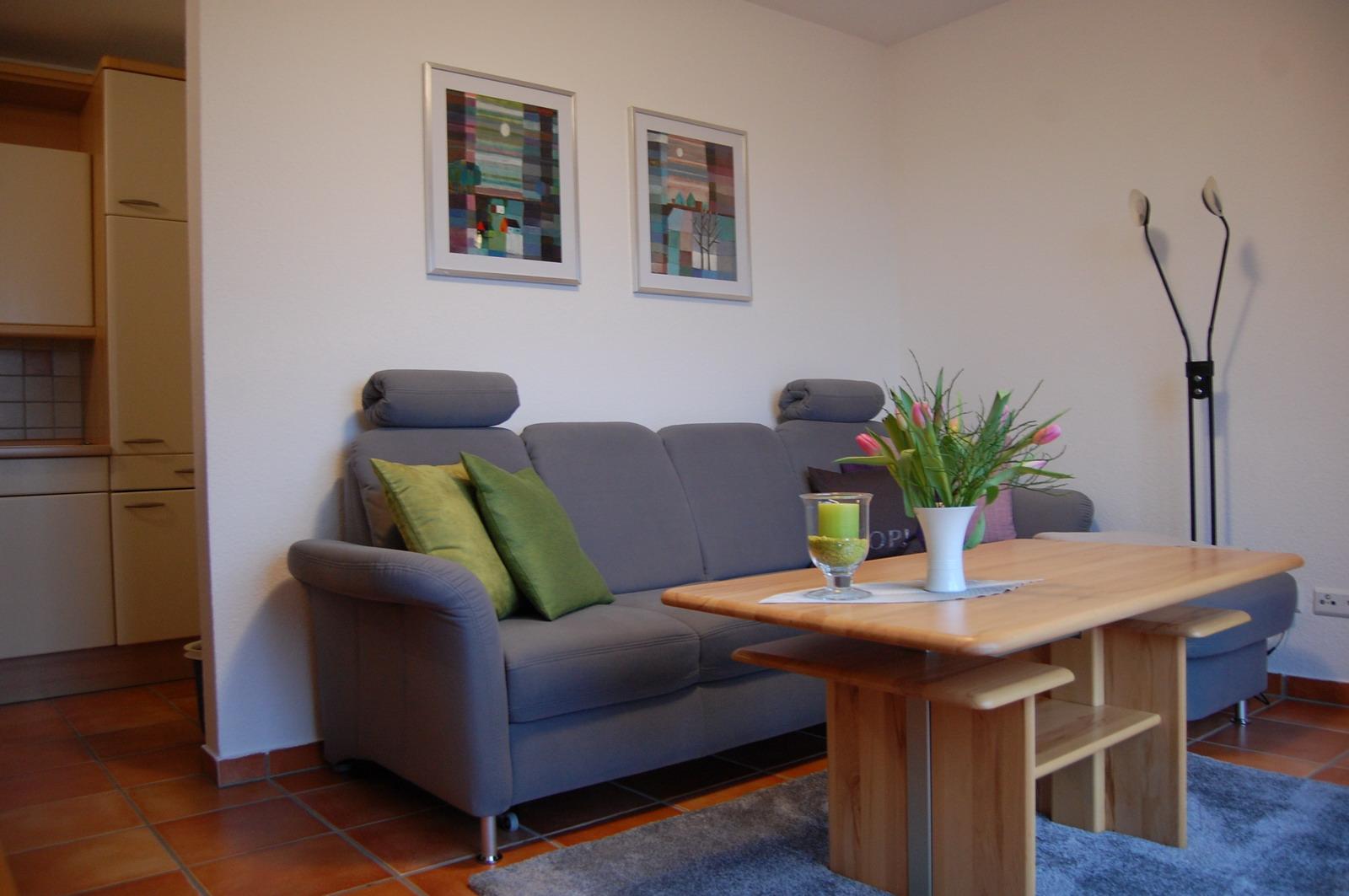Ferienwohnung mit meerblick im nordseebad dangast for Wohnzimmer quadratmeter berechnen
